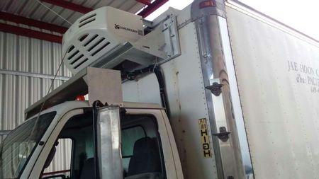 All Electric Transport Refrigeration Unit C450FB
