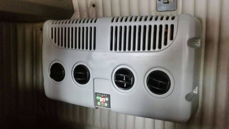 Corunclima all electric truck air conditioner K20BS2