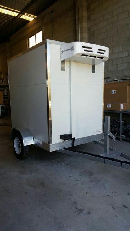 Corunclima electric transport refrigeration unit C300FB