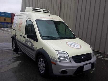 Corunclima all electric transport refrigeration unit C150TB