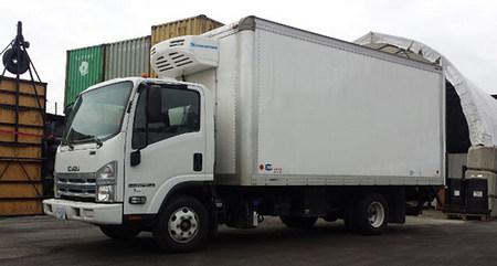 Corunclima all electric transport refrigeration unit C450FB
