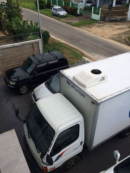 Corunclima all electric transport refrigeration unit C300TB