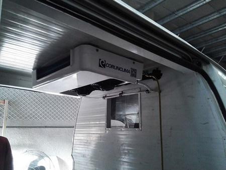Corunclima all electric transport refrigeration unit C300TB