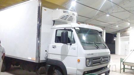 Corunclima engine driven transport refrigeration unit V450F