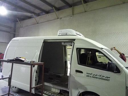 Corunclima engine driven transport refrigeration unit C300T
