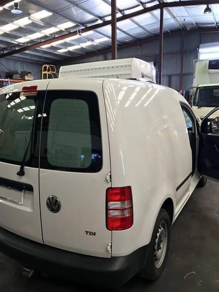Corunclima electric transport refrigeration unit C150TB