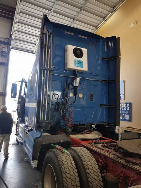 Corunclima electric truck air conditioner K20BS2