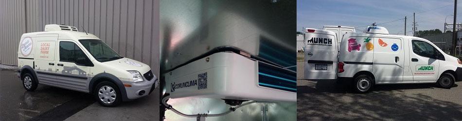 Battery Driven Transport Refrigeration Unit C150TB