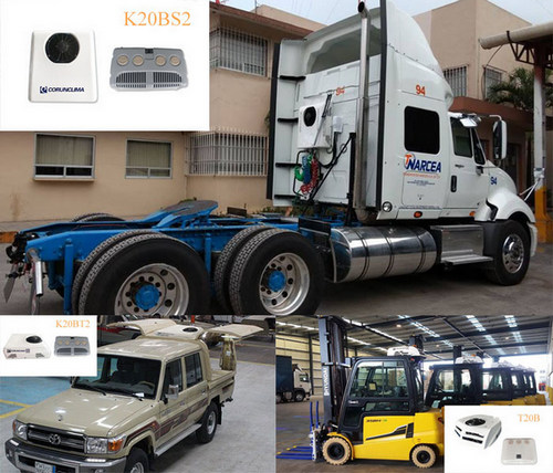 Corunclima Electric Truck Air Conditioner