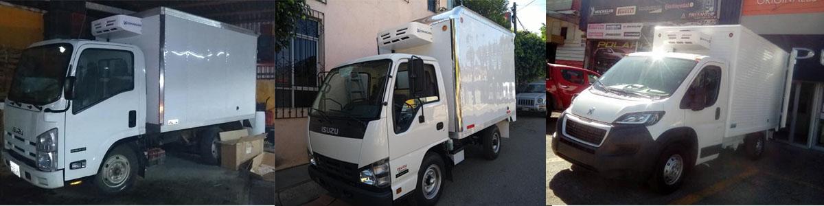 installation cases of transport refrigeration unit V300F