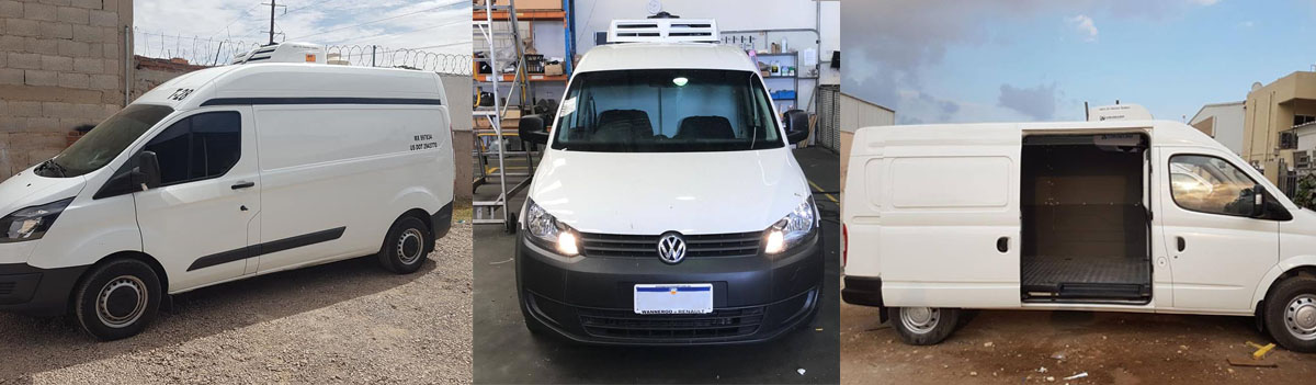 installation cases of van refrigeration units