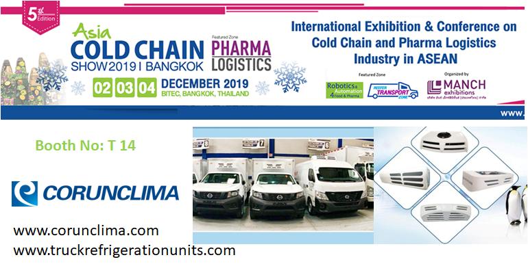 visit corunclima at Asia Cold chain Show