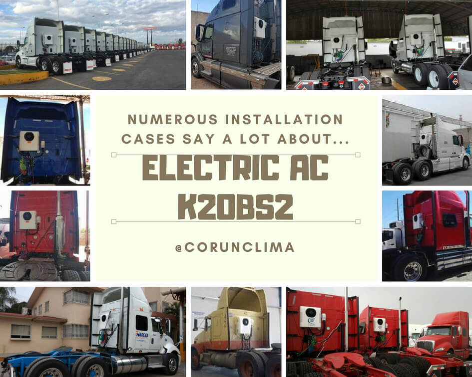 Corunclima Electric Transport Refrigeration Unit & Air Conditioner for Truck/Bus/Van