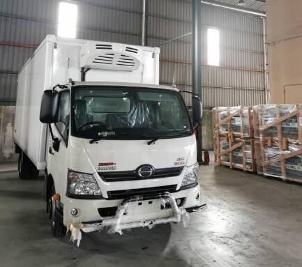 Corunclima truck freezer V650F installed in Malaysia