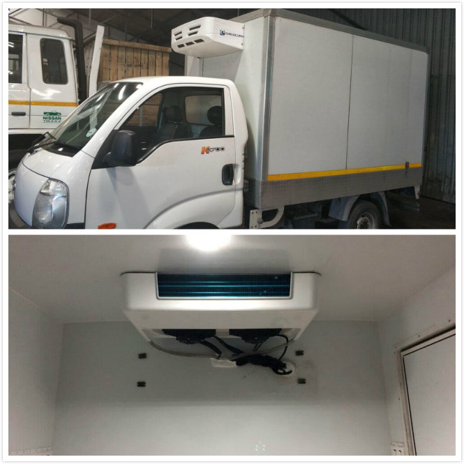 Corunclima truck freezer in south africa