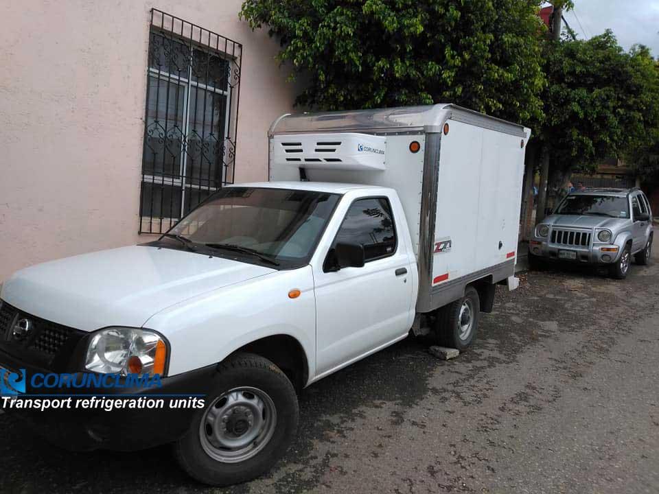 Truck freezer unit V300F on pickup