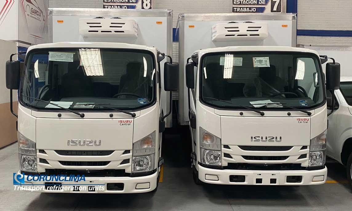 Truck freezer unit V350F in Mexico