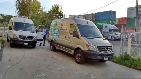 Van Refrigeration Unit C300TB serves in America