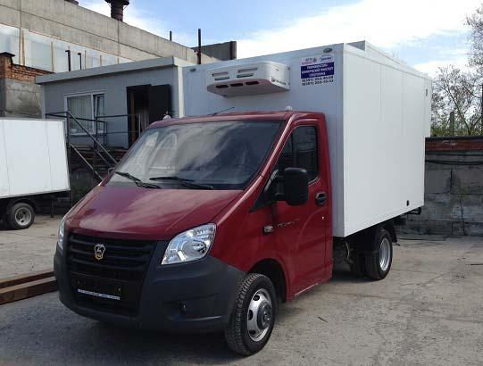 Truck Refrigeration Unit V150F serves in Belarus