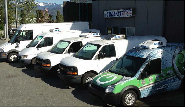 Van Refrigeration Unit C150TB serves in Canada