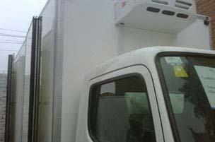 Truck Refrigeration Unit V450F serves in Chile