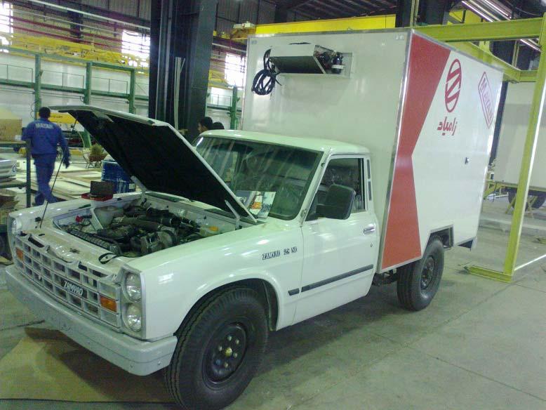 Truck Refrigeration Unit C450F serves in Iran