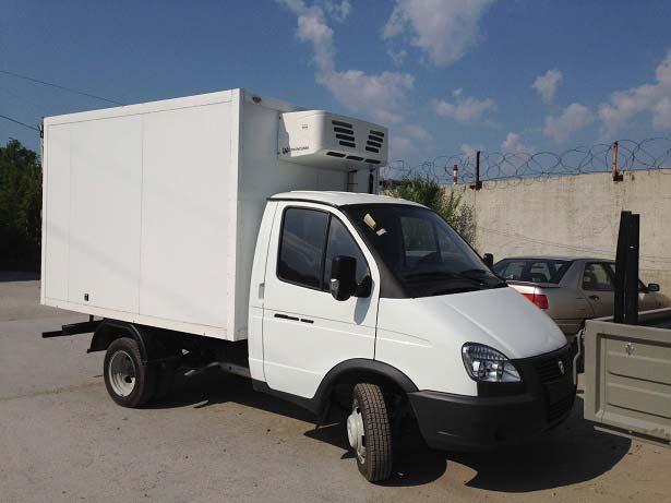Truck Refrigeration Unit V300F serves in Kazakhstan
