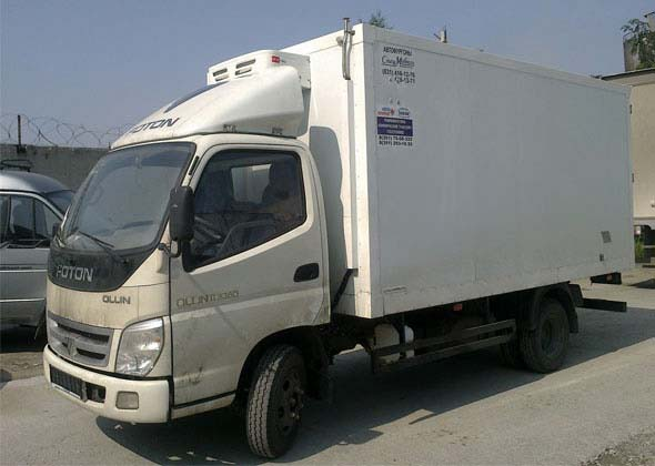Truck Refrigeration Unit V300F serves in Phillipines
