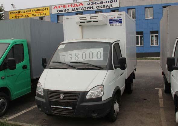Truck Refrigeration Unit V300F serves in Russia