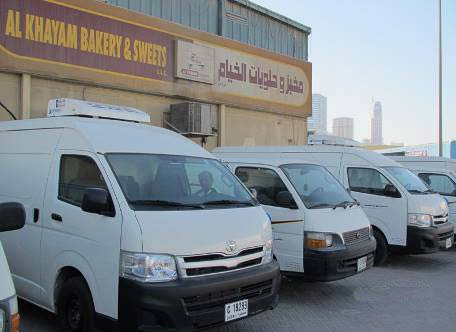 Van Refrigeration Unit C300T serves in UAE
