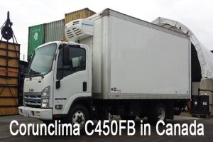 Corunclima All-Electric Transport Refrigeration Unit C450FB Installed in Canada