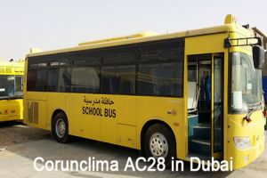 Corunclima Bus Air Conditioner AC28 Installed in Dubai