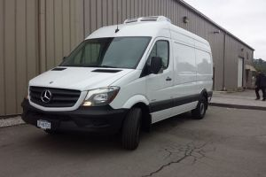 All Electric Transport Refrigeration Unit C350TB for Mercedes Sprinter